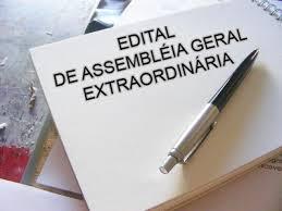 Photo of Edital de Convocação para Assembleia Geral Extraordinária