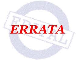 Photo of ERRATA COMISSÃO ELEITORAL – PORTARIA Nº 05/2017- SINSEP-GO