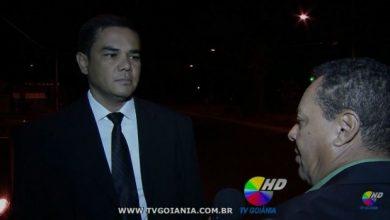Photo of Presidente do SINSEP-GO em entrevista a TV Goiânia sobre o fato ocorrido em Jussara