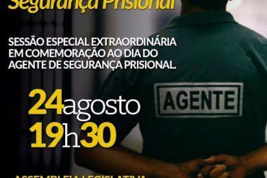 Photo of Sessão Especial Extraordinária em Comemoração ao Dia do Agente de Segurança Prisional