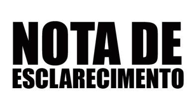 Photo of Nota de Esclarecimento