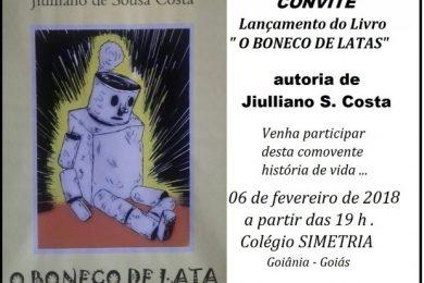 """Photo of Convite – Lançamento do livro """"O boneco de latas"""""""