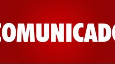Photo of Comunicado!