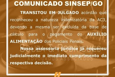 Photo of Grande Vitória do SINSEP-GO