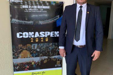 Photo of O Presidente do SINSEP-GO Maxsuell Miranda das Neves foi eleito VICE-PRESIDENTE DA FENASPEN- FEDERACAO NACIONAL DOS SERVIDORES PENITENCIÁRIAOS!! MANDATO 2021/2025.