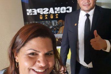 Photo of Policial Penal Diana, nossa Diretora Nacional pela Fenaspen e Delegada Sindical pelo Sinsep-Go!!