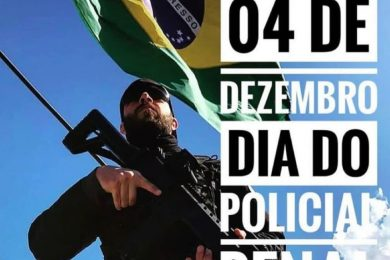 Photo of 4 DE DEZEMBRO – DIA DO POLICIAL PENAL