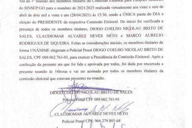 Photo of MEMBROS TITULARES DA COMISSÃO ELEITOTAL!!!!